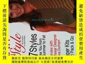 二手書博民逛書店KNIT N罕見STYLE 2008 08 Issue 156 毛衣編織針織服裝原版外文雜誌Y14610