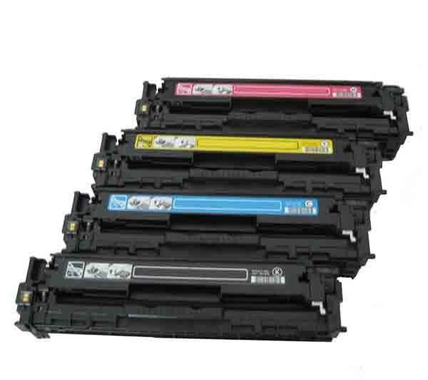 HP 環保碳粉匣CB541A藍色CB542A黃色CB543A 紅色 單支任選 適用CM1300/CM1312/CP1210/CP1510/CP1215/CP1518