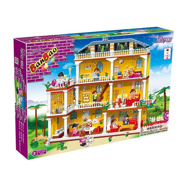 【BanBao 積木】8370 女孩系列 甜蜜的家 My Beloved Home