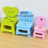 戶外小板凳折疊凳子塑料靠背便攜式家用椅子【步行者戶外生活館】