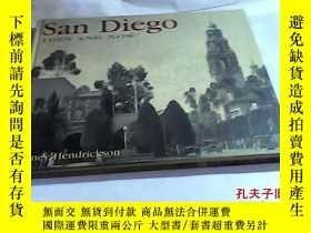 二手書博民逛書店San罕見Diego: Then and Now(聖迭哥:過去與