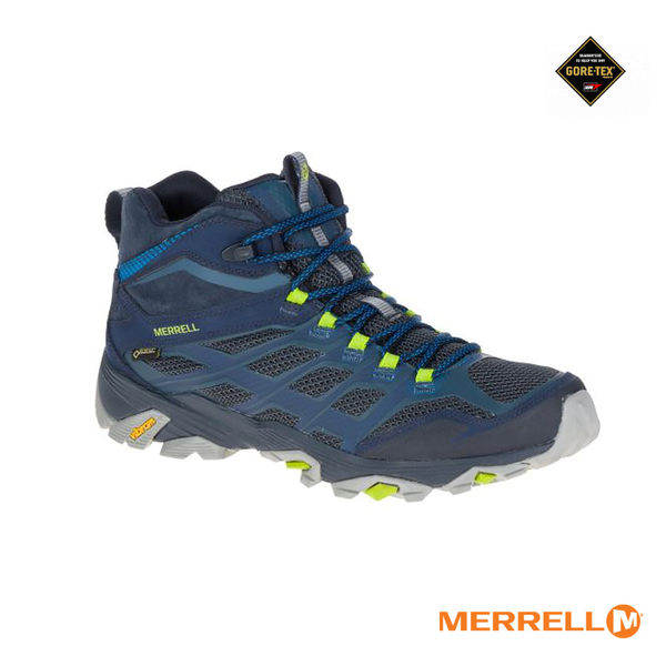 MERRELL MOAB FST MID Gore-tex ML36889戶外多功能鞋(男款)/城市綠洲(戶外、健行、登山、美國)