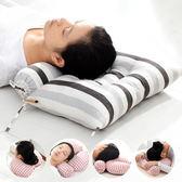 記憶枕 頸椎枕頭蕎麥枕護頸枕單人專用圓形糖果枕保健康枕芯【快速出貨八五折優惠】