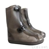 雨鞋套雨鞋套防滑加厚耐磨成人男女戶外鞋套防水雨天學生高筒防雨鞋套 艾家