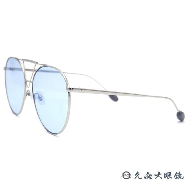 For Art's Sake 太陽眼鏡 Poison AR6 (銀) 雙槓 圓框 久必大眼鏡