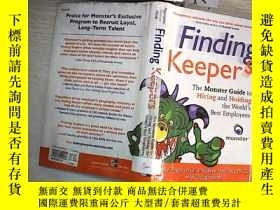 二手書博民逛書店Finding罕見Keepers: The Monster Gu