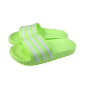 adidas 拖鞋 運動型 防水 螢光綠 女鞋 FY8105 no928