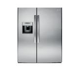 GE 美國 奇異 GSE25HSSS 733L 對開門冰箱 不鏽鋼灰色