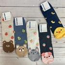 韓國襪子 可愛動物 食物襪 長筒襪 玩翻可愛襪 草莓 香蕉 柴犬 水蜜桃 企鵝 小豬 熊熊