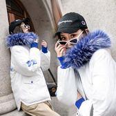 2018新款韓版棉服女短款連帽羽絨棉襖加厚冬季棉服撞色外套面包服第七公社