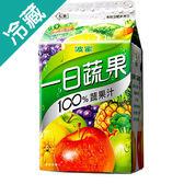 波蜜一日蔬果100%蔬果汁400ml【愛買冷藏】