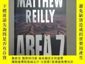 二手書博民逛書店area罕見7Y2670 Matthew reilly Macmillan 出版2001