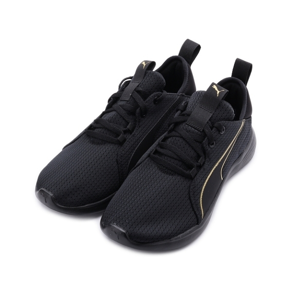 PUMA SOFTRIDE VITAL REPEL 輕量跑鞋 黑金 194357-02 女鞋