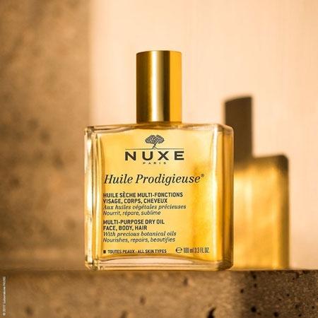 NUXE 黎可詩 全效晶亮精華油 100ml 護理油 護髮油 身體油 保濕油 按摩油 保濕