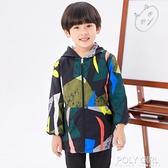 寶寶防水罩衣長袖秋冬小孩羽絨服防臟護衣男童吃飯兜兒童畫畫圍裙 夏季新品