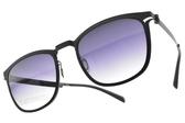 VYCOZ太陽眼鏡MARK BLK-B(黑-漸層藍) 薄鋼簡約款  #金橘眼鏡