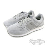 New Balance 慢跑鞋 996 灰麂皮 灰Logo 運動 休閒 女鞋 WR996WPG【Speedkobe】