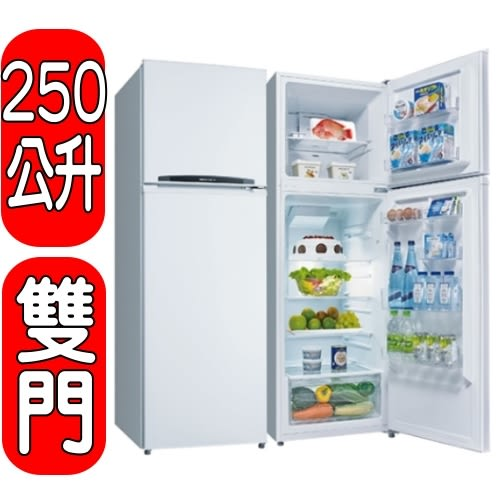 SANLUX台灣三洋【SR-B250B3】250公升雙門冰箱