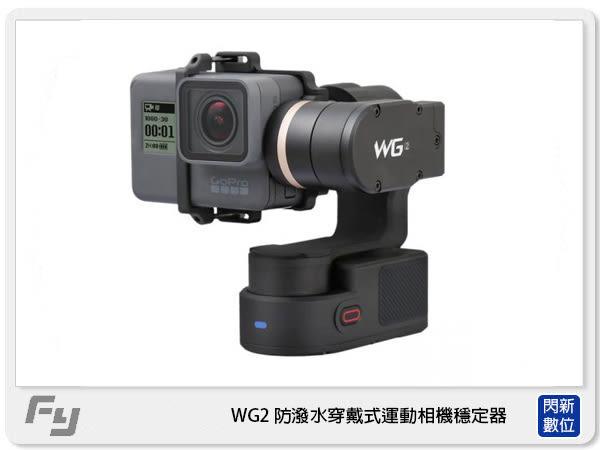【24期0利率】現貨!Feiyu 飛宇 WG2 防潑水 穿戴式 運動相機 穩定器 適GOPRO(公司貨)似Z1 Rider M