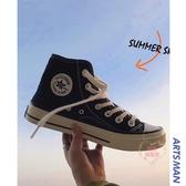 帆布鞋 透氣小白鞋男韓版潮流鞋子休閒高幫鞋百搭潮牌帆布鞋-限時88折起