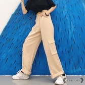 工裝褲 寬鬆男女原宿百搭休閒褲純色長褲潮 - 歐美韓熱銷