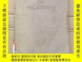 二手書博民逛書店mathematics罕見of relativity(P1523)Y173412