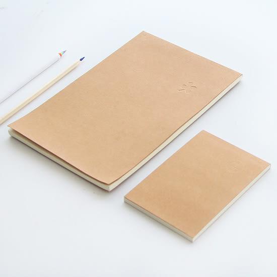 ◄ 生活家精品 ►【P212】純色牛皮空白本60張 學校 辦公 文具 實用 學生 繪畫 書寫 筆記