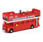 【日本 Kawada 河田】Nanoblock 迷你積木 倫敦雙層巴士 NBH-080