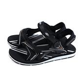 G.P (GOLD PIGEON) 阿亮代言 運動型 涼鞋 黑色 男鞋 G0792M-10 no455