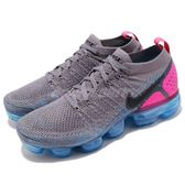 Nike Air VaporMax Flyknit 2 灰 藍 二代 飛線編織 大氣墊 運動鞋 男鞋【PUMP306】 942842-004