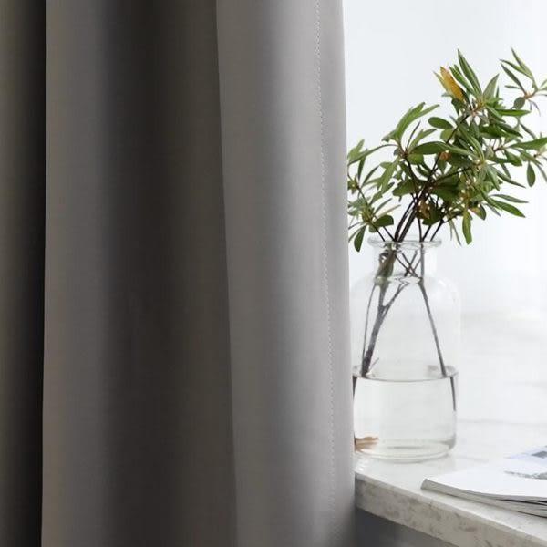 限定款簡約現代遮陽隔音隔熱布客廳臥室落地飄窗全遮光窗簾成品防曬擋光窗簾