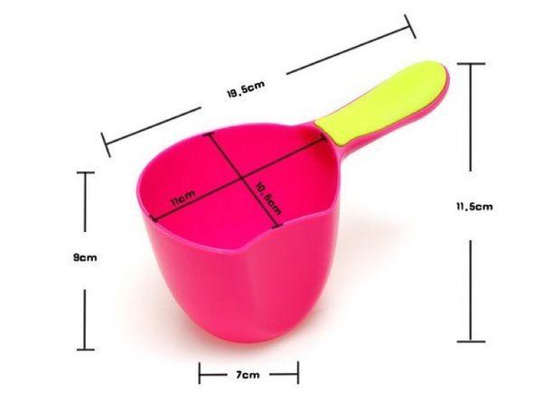 嬰兒沐浴水勺 洗髮勺 兒童水瓢 洗頭杯【PT016】