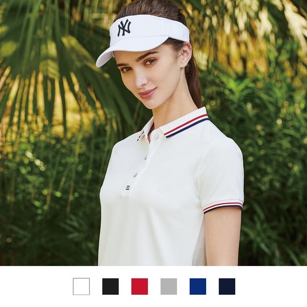 【晶輝團體制服】LS9968-短袖滾邊配色POLO衫素面款式(印刷免費)一件也做工作服