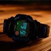 時諾刻兒童手錶防水夜光男孩女孩小學生男童女童多功能運動電子錶【全館免運】