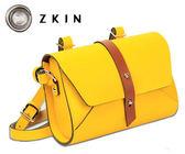 ZKIN Harpy 輕巧相機包 攝影包 柚子黃 Z4038 真皮材質 小單眼適用 品虹公司貨