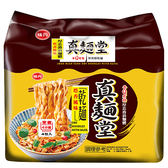 味丹真麵堂塔香風味乾麵90g*4【愛買】