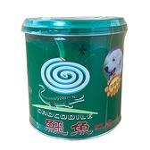 鱷魚 蚊香-A鐵罐50卷【愛買】