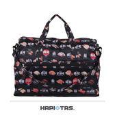 HAPI+TAS 摺疊收納袋/旅行袋-H0002(小) 277日本黑色壽司
