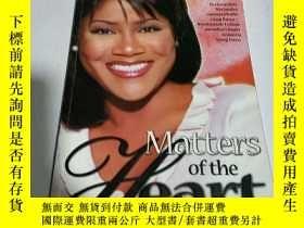 二手書博民逛書店matters罕見of the heart(英文)Y200392