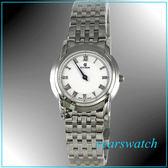【萬年鐘錶】CYMA瑞士司馬錶 白 超薄女錶 02-0461-002 24期零利率