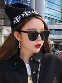 太陽眼鏡 gm墨鏡女韓版潮網紅街拍ins超火的眼鏡復古圓臉蹦迪專用太陽鏡女【韓國時尚週】