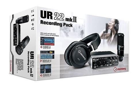 Steinberg UR22 MKII Recording Pack USB 錄音介面 YAMAHA 公司貨 保固一年