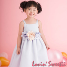 【Lovin` Sweetii】俏麗小公主童洋裝~粉藍~限量款(不含花飾)