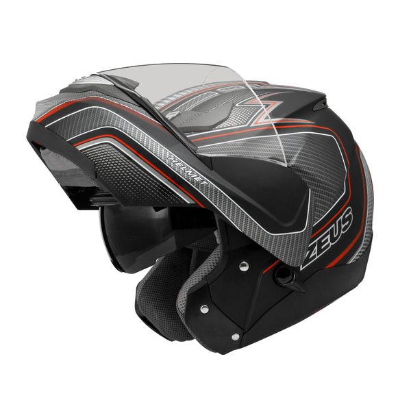 ZEUS 瑞獅安全帽,ZS3100,YY5/消光黑紅