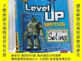 二手書博民逛書店Level罕見UP MATHS—Levels 3--5【書品以圖