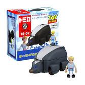 TOMY TS-02 玩具總動員4 牧羊女 & 臭鼬車 【鯊玩具Toy Shark】