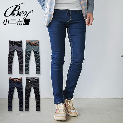 牛仔褲韓版質感素面丹寧褲【NW765106】