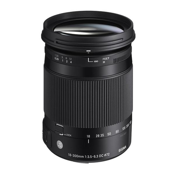 SIGMA 18-300mm F3.5-6.3 DC MACRO OS HSM Contemporary [C] APS-C 【恆伸公司貨 三年保固】