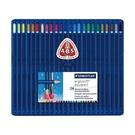 德國施德樓STAEDTLER全美水彩三角型筆桿色鉛筆24色組*156SB24