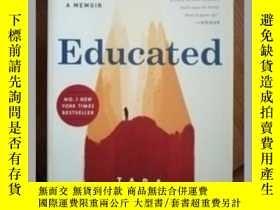 二手書博民逛書店Educated:罕見A Memoir Tara Westove